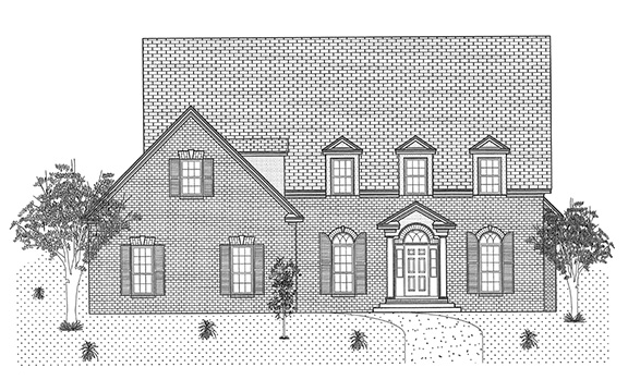 Ivey Floor Plan Lowder New Homes