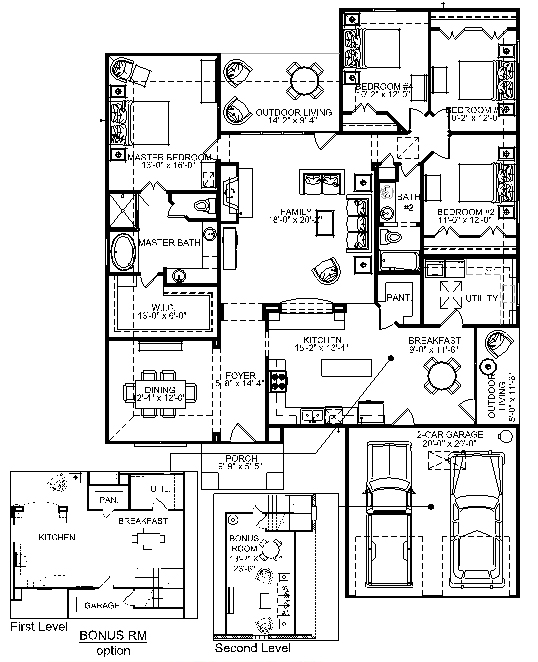 Floorplan lowder homes for Ron lee homes floor plans