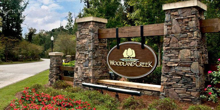 lowder_new_homes_woodland_creek_pike_road_entrance