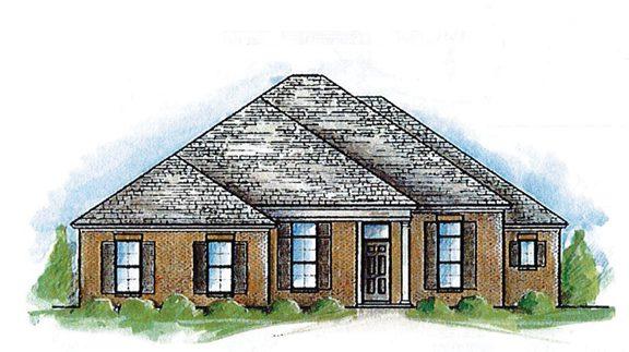 Cherry Bark Oak Lowder New Homes