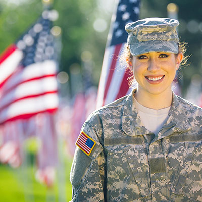 buying a home while in the military