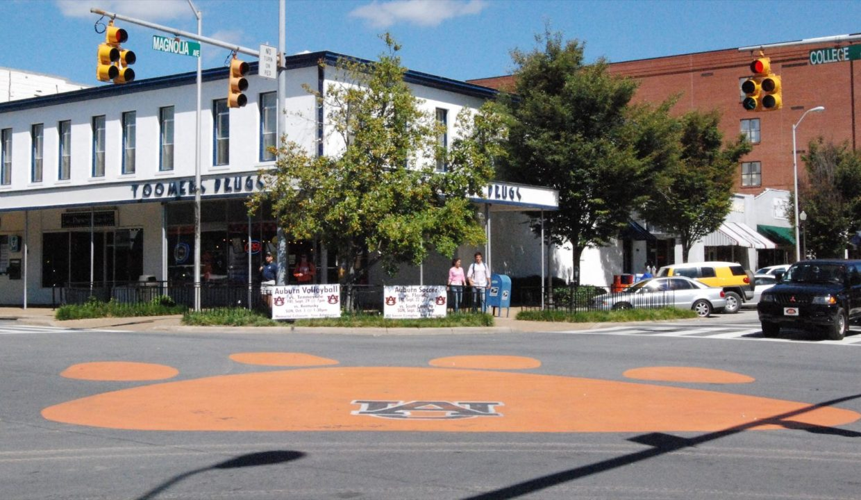 One perk of buying a home in Auburn, Alabama? The cute downtown area.